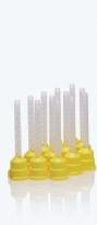 Смесительные наконечники (канюли) желтые, под интраоральную насадку.