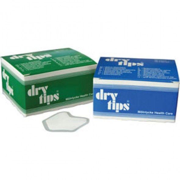 """Драй-типсы """"Dry Tips"""", Small (зеленые), 50 шт. в упак."""