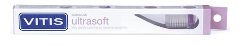 Зубная щетка Vitis Ultrasuave( УЛЬТРА МЯГКАЯ) в твердой упаковке