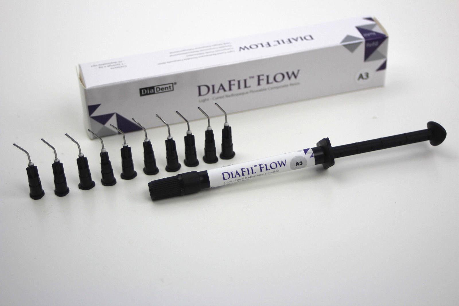 Диа Фил Флоу - DiaFil Flow, шприц 2 гр., цвет А1