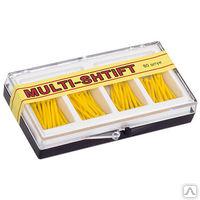 """Штифты беззольные """"MULTI SHTIFT"""" комплект 80 шт. желтые 1,2 мм"""