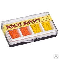 """Штифты беззольные """"MULTI SHTIFT"""" комплект по 40 шт. оранжевые, желтые, уп 80 шт"""