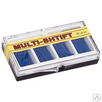 """Штифты беззольные """"MULTI SHTIFT"""" комплект 80 шт. синие 1,6 мм.,  1 развёртка Ф1,6 мм"""