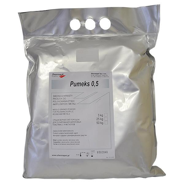 Порошок полировочный Pumeks 0,5 для полировки акрила (3кг)