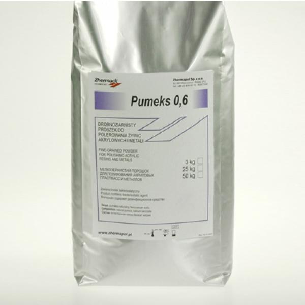 Порошок полировочный Pumeks 0,6 для полировки акрила (3кг)