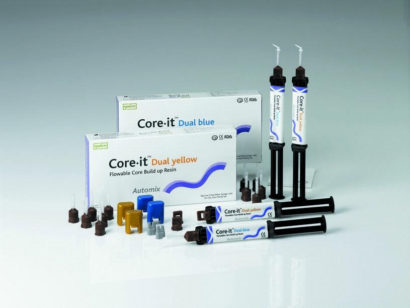 Коре Ит Дуал - Core-it  Dual- Цемент двойного отверждения (шприц - 10 гр)