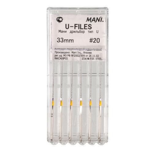 Ультрасоник-файлы MANI № 15, длина 33 мм