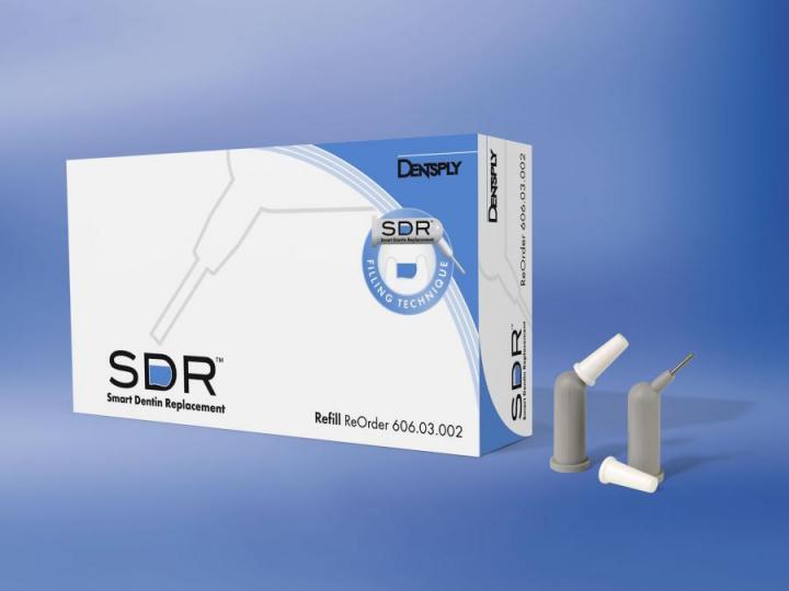 СДР Рефилл - SDR Refill -жидкотекучий композит для пломбирования объемных полостей боковой группы зубов в компьюлах