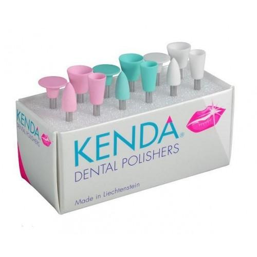 Резинка полировочная KENDA 910-С чашка, белая