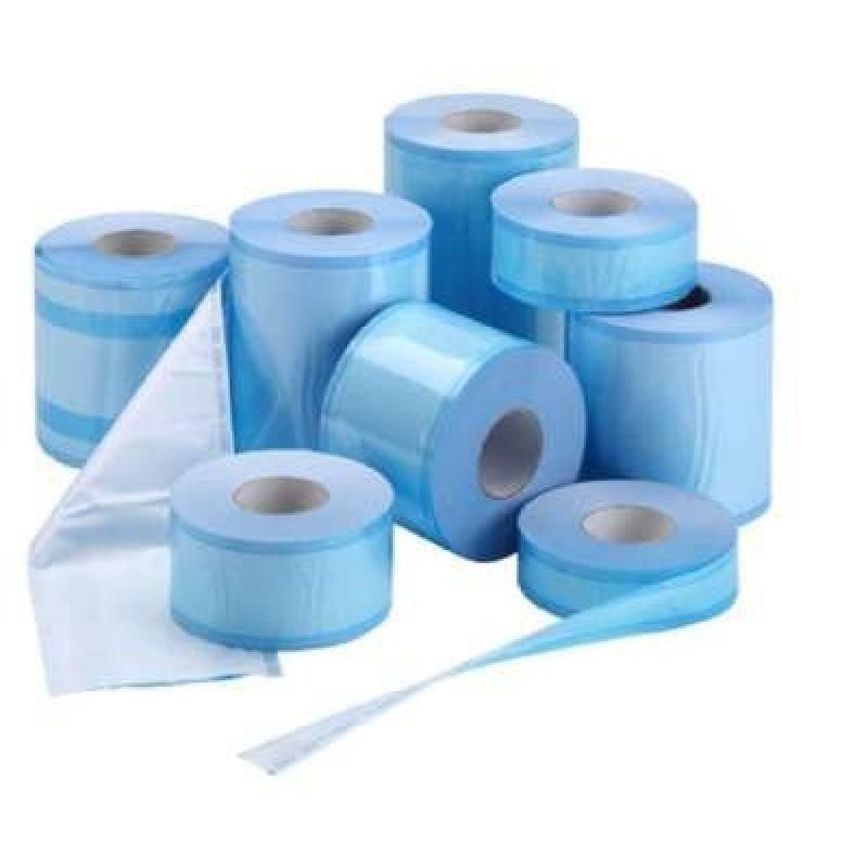 Рулон для стерилизации 100 мм х 200 м бумага/пластик