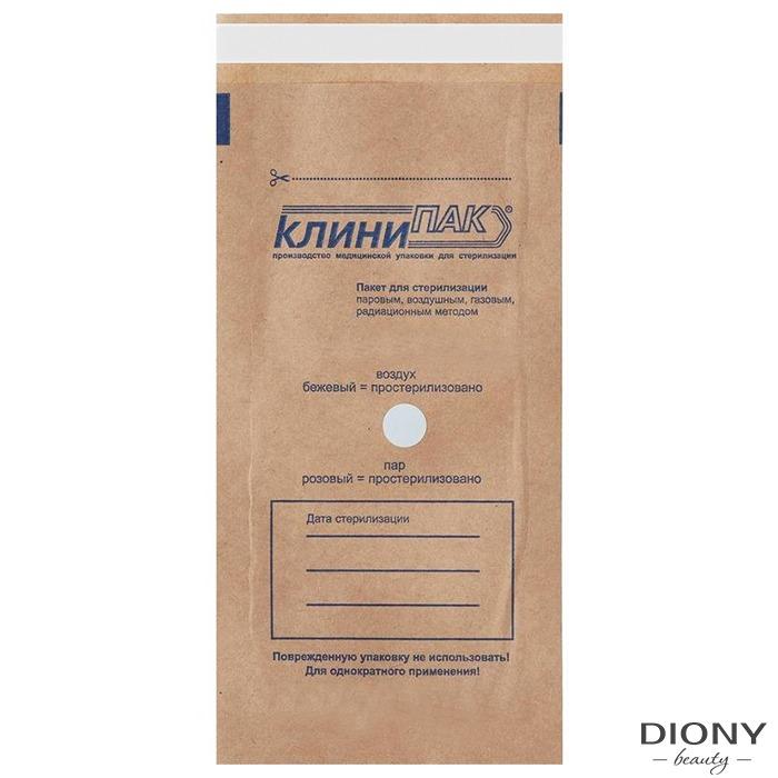 """Крафт-пакеты для стерилизации 115*245""""Клинипак"""""""