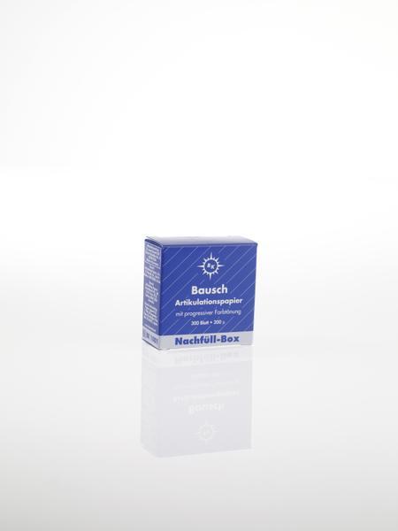 """ВК01 - артикуляционная бумага, синяя, 300 листов, 200мкр, """"Bausch"""", Германия"""