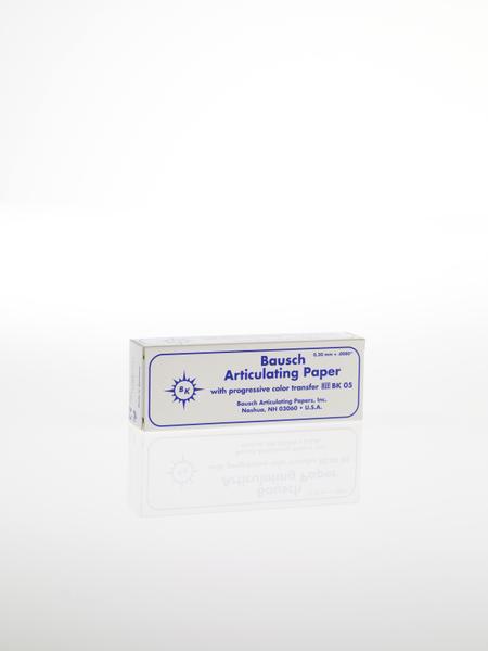 """ВК05 - артикуляционная бумага, синяя, 300 листов, 200мкр, """"Bausch"""", Германия"""