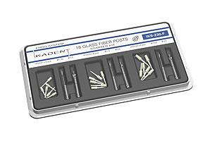 IKS-Z10-F Стартовый набор штифтов стекловолоконных Z10