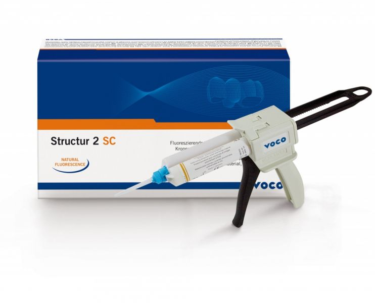 Структур 2 SC-самоотверждаемый материал для временных коронок и мостов(А3), VOCO