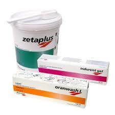 Zetaplus+Oranwash+Indurent Gel+Mix.Pad(Набор 900мл+140мл+60мл)