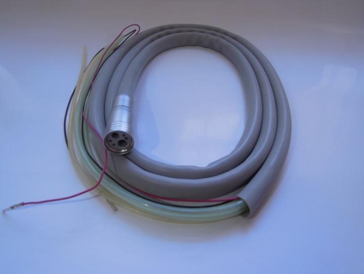 Шланг силиконовый 6-канальный для наконечника с фиброоптикой